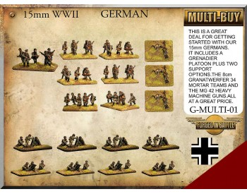 G-MULTI-01 German Infantry Multi-Buy