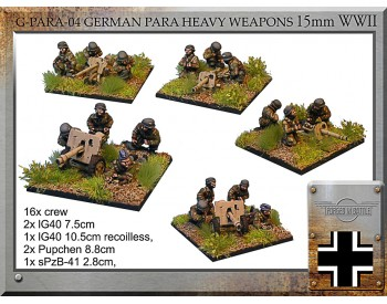 G-PARA-04 German Para Heavy Weapons
