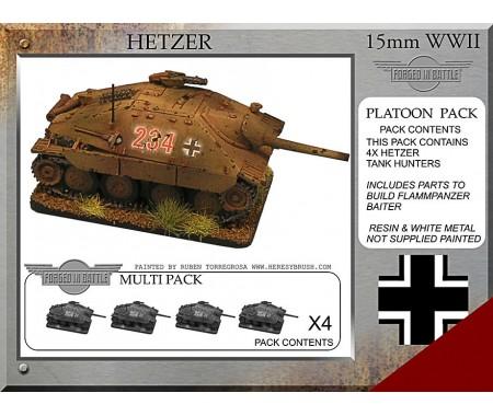 P-18 Hetzer Platoon Pack