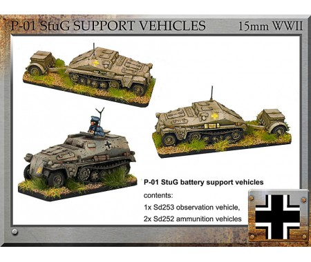 P-01 StuG Battery Support Vehicles
