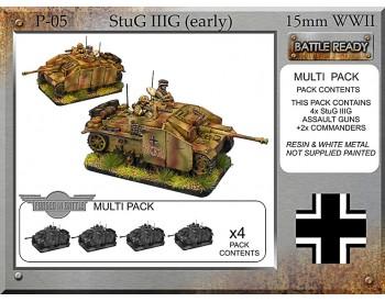 P-05 StuG IIIG x 4