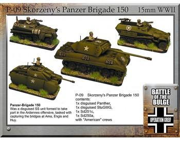 P-09 Skorzseny Panzer Brigade 150