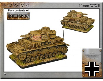 P-42 Pz IVF1 support tank