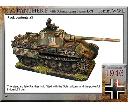 P-54 Panther F with Schmallturm