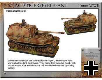 P-67 Jagd Tiger (P) Elefant