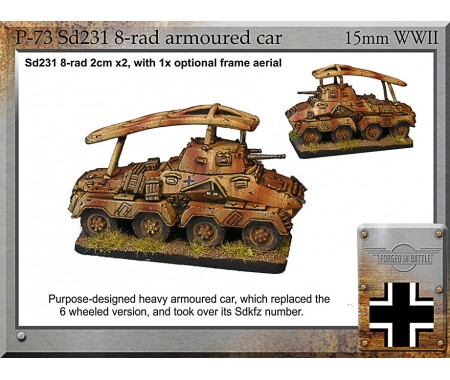 P-73 Sd231 8-rad armoured car