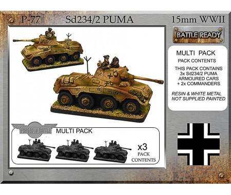 P-77 Sd234/2 Puma x 3