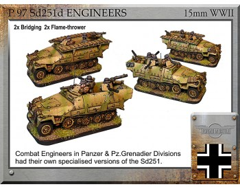 P-97 Sd251d engineers vehicles