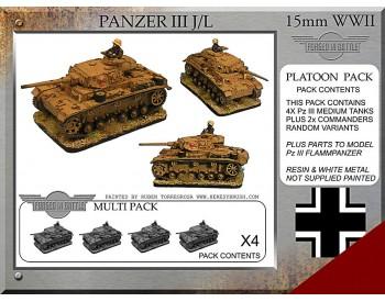 P-33 Pz III J/L Platoon Pack
