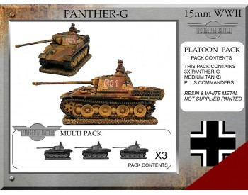 P-52 Panther G Platoon Tanks