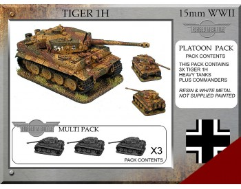 P-62 Tiger 1H Platoon Tanks