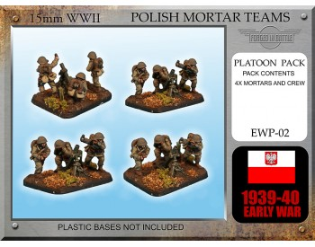 EWP02 Early War Polish Mortar Teams 81mm