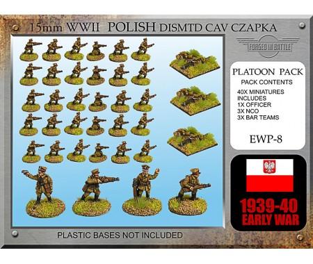 EWP08 Polish Cavalry Dismounted (Czapka)