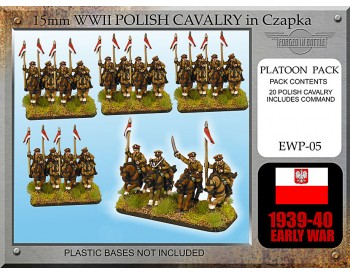 EWP05 Early War Polish Cavalry Chapzka / Lance (20)