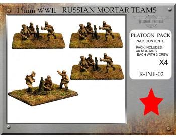 R-INF-02 Russian 81mm Mortar Teams