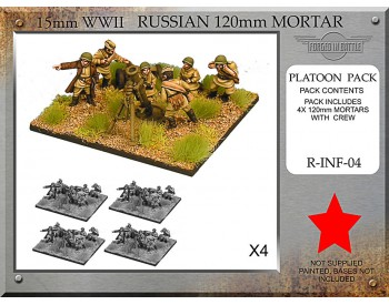 R-INF-04 Russian 120mm Mortar Platoon