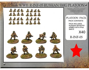 R-INF-05 Russian Sub Machine Gun Platoon