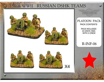 R-INF-06 Russian Dshk HMG Teams