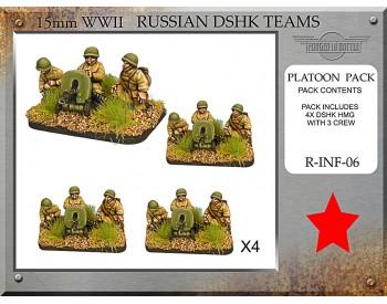 R-INF-06 Russian Dshk HMG Teams