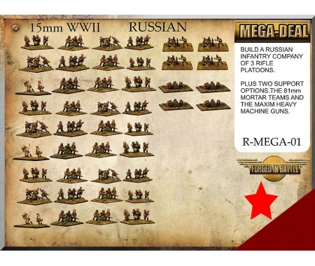 R-MEGA-01 Russian Infantry Mega Deal
