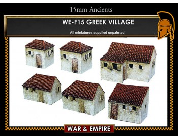 WE-F15 Greek Village