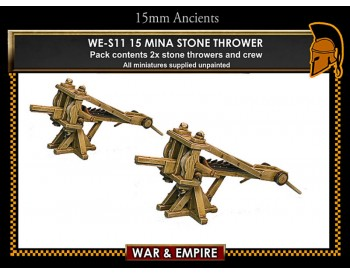 WE-S11 15 mina stone thrower