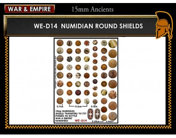 WE-D14 Numidian round shields