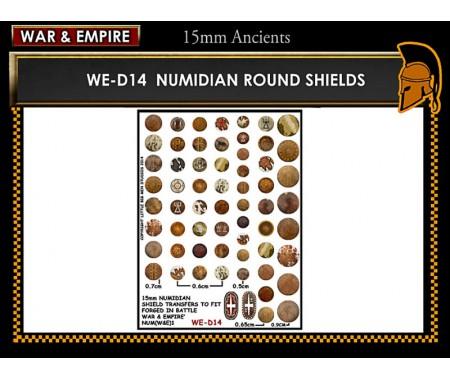 WE-D14 Numidian round shields