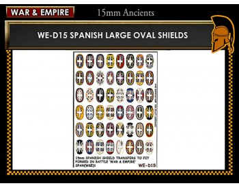 WE-D15 Spanish large oval shields