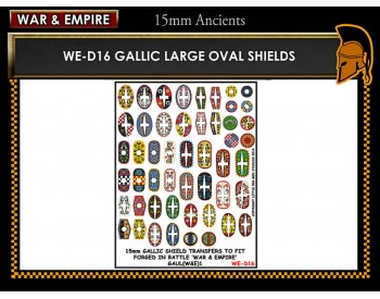 WE-D16 Gallic large oval shields