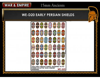 WE-D20 Early Persian shields