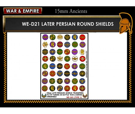 WE-D21 Late Persian shields (Type 1)