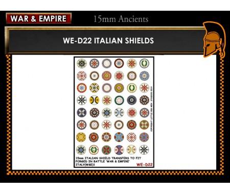 WE-D22 Italian shields
