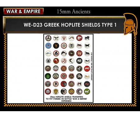 WE-D23 Greek Hoplite Shields (Type 1)