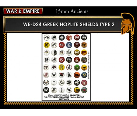 WE-D24 Greek Hoplite Shields (Type 2)