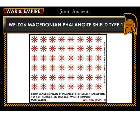 WE-D26 Macedonain Phalangite Shield (Type 1)