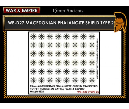 WE-D27 Macedonain Phalangite Shield (Type 2)