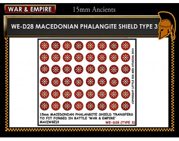 WE-D28 Macedonain Phalangite Shield (Type 3)