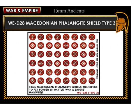 WE-D28 Macedonain Phalangite Shield (Type 3)
