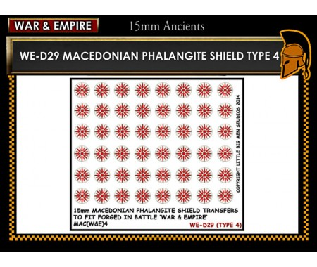 WE-D29 Macedonain Phalangite Shield (Type 4)