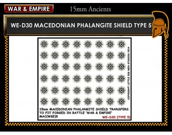 WE-D30 Macedonain Phalangite Shield (Type 5)