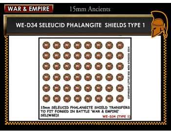 WE-D34 Seleucid Phalangite Shields (Type 1)