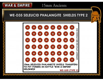 WE-D35 Seleucid Phalangite Shields (Type 2)