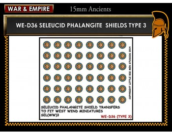 WE-D36 Seleucid Phalangite Shields (Type 3)