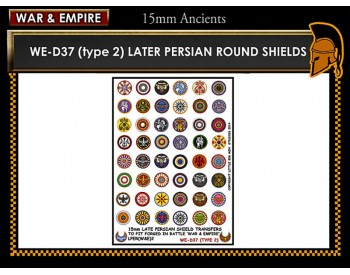 WE-D37 Late Persian Shields (Type 2)