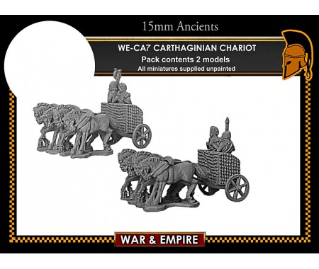 WE-CA07 Carthaginian 4-Horse Chariots