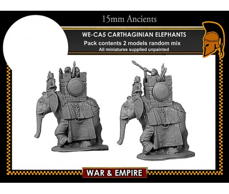 WE-CA05 Carthaginian Elephants