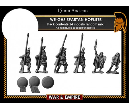 WE-GH03 Early Greek, Spartan Hoplites
