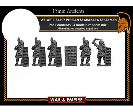 WE-AE11 Early Persian Sparabara Shield Bearers
