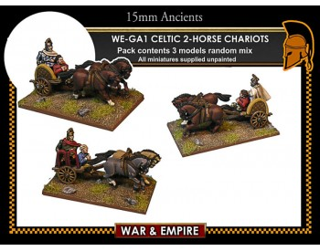 WE-GA01 Celtic 2-Horse Chariots